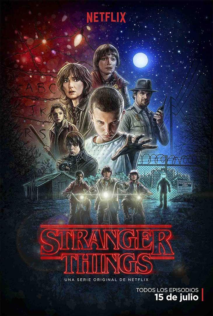 La carátula de Stranger Things es un auténtico tributo ochentero